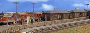 VOLLMER 43550 Bahnsteig Wiesental mit 2 Wartehallen | Bausatz Spur H0 kaufen