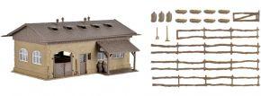VOLLMER 43740 Schweinestall mit Schweinen und Zaun | Bausatz Spur H0 kaufen