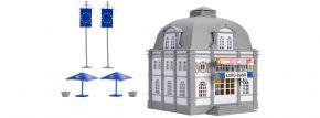 VOLLMER 42002 Euro Bank Bausatz mit 2 x Euro-Rettungsschirm H0 kaufen