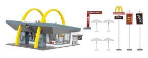 VOLLMER 43634 McDonald's mit McDrive | Bausatz Spur H0 kaufen