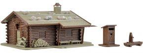 VOLLMER 43708 Jagdhütte mit Brunnen und Klo | Bausatz Spur H0 kaufen