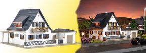 VOLLMER 43718 Wohnhaus mit Garage Bausatz 1:87 kaufen