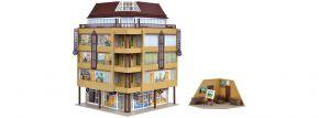 VOLLMER 3800 City-Eckhaus mit Dachatelier | Bausatz Spur H0 kaufen