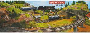 VOLLMER 44547 Brückenauffahrt Set Bausatz Spur H0 kaufen