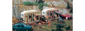 VOLLMER 45145 Campingwagen | 2 Stück | Spur H0 kaufen