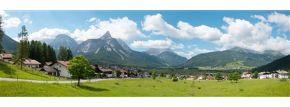 VOLLMER 46106 Hintergrundkulisse Alpenvorland 3teilig  Spur H0 kaufen