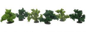VOLLMER 48403 Busch 3,5 cm | 6 Stück | hell-/dunkelgrün | Spur Z / N / TT / H0 kaufen