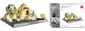 WANGE 4210 Gizeh Pyramide + Sphinx | Gebäude Baukasten kaufen