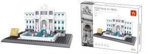 WANGE 4212 Trevi-Brunnen Rom | Gebäude Baukasten kaufen