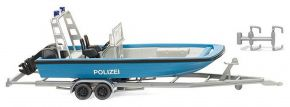 WIKING 009545 Polizei - Mehrzweckboot MZB 72 (Lehmar) | 1:87 kaufen