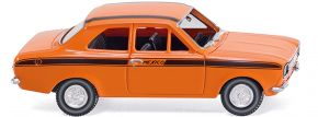 WIKING 020305 Ford Escort Mexico | orange BJ 1968 | Modellauto 1:87 kaufen