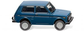 WIKING 020802 Lada Niva azurblau | Automodell 1:87 kaufen