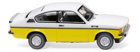 WIKING 022902 Opel Kadett C Coupé GT/E - weiß/gelb   1:87 kaufen
