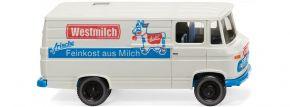 WIKING 027058 MB L 406 Kastenwagen | Modellauto 1:87 kaufen