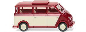 WIKING 033405 DKW Schnelllaster Bus - rubinrot/elfenbein   Modellauto 1:87 kaufen