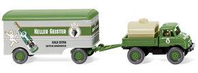 WIKING 037106 Unimog U 406 m. Kofferanhänge  | LKW-Modell 1:87 kaufen