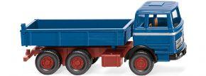 WIKING 042407 Flachpritschenkipper (MB) - azurblau | LKW-Modell 1:87 kaufen