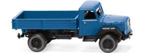 WIKING 042499 Pritschenkipper (Magirus) - brilliantblau | LKW-Modell 1:87 kaufen