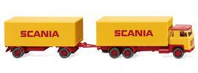 WIKING 045702 Kofferhängerzug (Scania 111) | 1:87 kaufen
