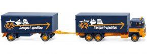 WIKING 045703 Scania 111 Kofferhängerzug | LKW-Modell 1:87 kaufen