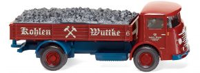WIKING 047604 Pritschen-Lkw Büssing 4500 Kohlen Wuttke | LKW-Modell 1:87 kaufen