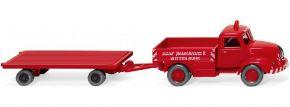 WIKING 049202 Magirus S 3500 Schwerlastzug | LKW Modell 1:87 kaufen