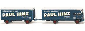 WIKING 050053 Möbelkofferlastzug (MB) Paul Hinz | MC-Vedes | LKW Modell 1:87 kaufen