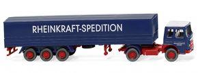 WIKING 051701 MAN Pritschensattelzug | LKW-Modell 1:87 kaufen