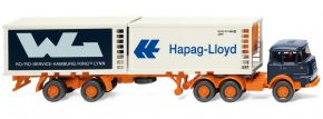 WIKING 052201 Krupp Kühlcontainerszg Hapag Lloyd / WL | LKW-Modell 1:87 kaufen