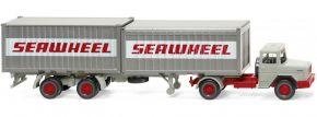 WIKING 052402 Magirus Deutz Containersattelzug | LKW-Modell 1:87 kaufen