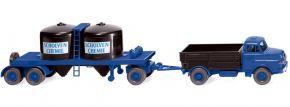 WIKING 053404 Chemikalienhängerzug MAN Scholven | LKW-Modell 1:87 kaufen