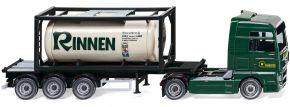 WIKING 053601 MAN TGX Tankcontainersattelzug Rinnen | LKW-Modell 1:87 kaufen