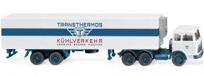 WIKING 054302 Kühlkoffersattelzug MB Transthermos | LKW-Modell 1:87 kaufen