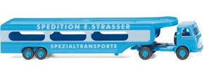 WIKING 058049 MB Autotransporter Spedition E. Strasser LKW-Modell 1:87 kaufen