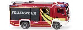 WIKING 061259 MAN TGM Euro6 Rosenbauer Löschfahrzeug Feuerwehr Blaulichtmodell 1:87 kaufen