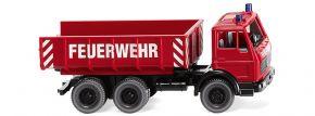 WIKING 062403 Mercedes-Benz Schuttwagen Feuerwehr Blaulichtmodell 1:87 kaufen