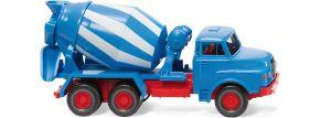 WIKING 068208 Betonmischer (MAN) - blau/weiß | LKW-Modell 1:87 kaufen