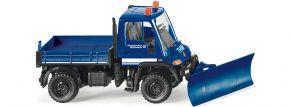 WIKING 069322 Unimog U 400 mit Räumschild Blaulichtmodell 1:87 kaufen