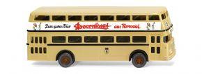 WIKING 072204 Büssing Doppeldeckerbus D2U | Bus-Modell 1:87 kaufen