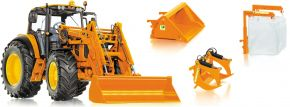 WIKING 077342 John Deere 7430 mit Frontlader und Frontlader-Werkzeugen Agrarmodell 1:32 kaufen