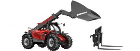 WIKING 077850 Manitou Teleskoplader MLT 635 | Agrarmodell 1:32