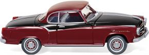 WIKING 082324 Borgward Isabella Coupé purpurrot/schwarz | Modellauto 1:87 kaufen