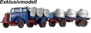 WIKING 085956 MB L 6600 Behelfstankzug, azurblau | LKW-Modell 1:87 kaufen