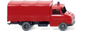 WIKING 086127 Opel Blitz Pritschen-LKW Feuerwehr Blaulichtmodell 1:87 kaufen