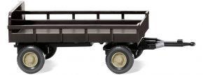 WIKING 086903 Landwirtschaftlicher Anhänger braun | Landwirtschaftsmodell 1:87 kaufen