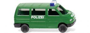 WIKING 093507 VW T4 Bus Polizei | Blaulichtmodell 1:160 kaufen