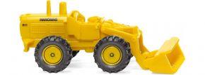 WIKING 097402 Hanomag Radlader maisgelb | Baumaschinenmodell 1:160 kaufen