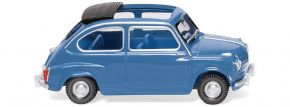 WIKING 009906 Fiat 600 - brillantblau   Modellauto 1:87 kaufen