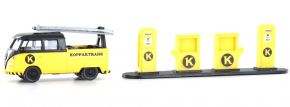 WIKING 099698 VW T1 Doka Werkstattwagen Koppertrans | I+S Sondermodell | Modellset 1:87 kaufen