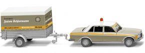 WIKING 815201 MB 240 D + Anhänger | Schlotmann | MC-VEDES | Modellauto 1:87 kaufen